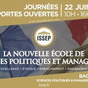Journée portes ouvertes à l'ISSEP le 22 juin 2019