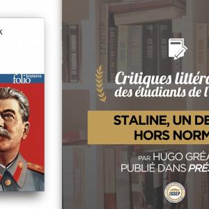 Critique littéraire : Staline, un destin hors norme