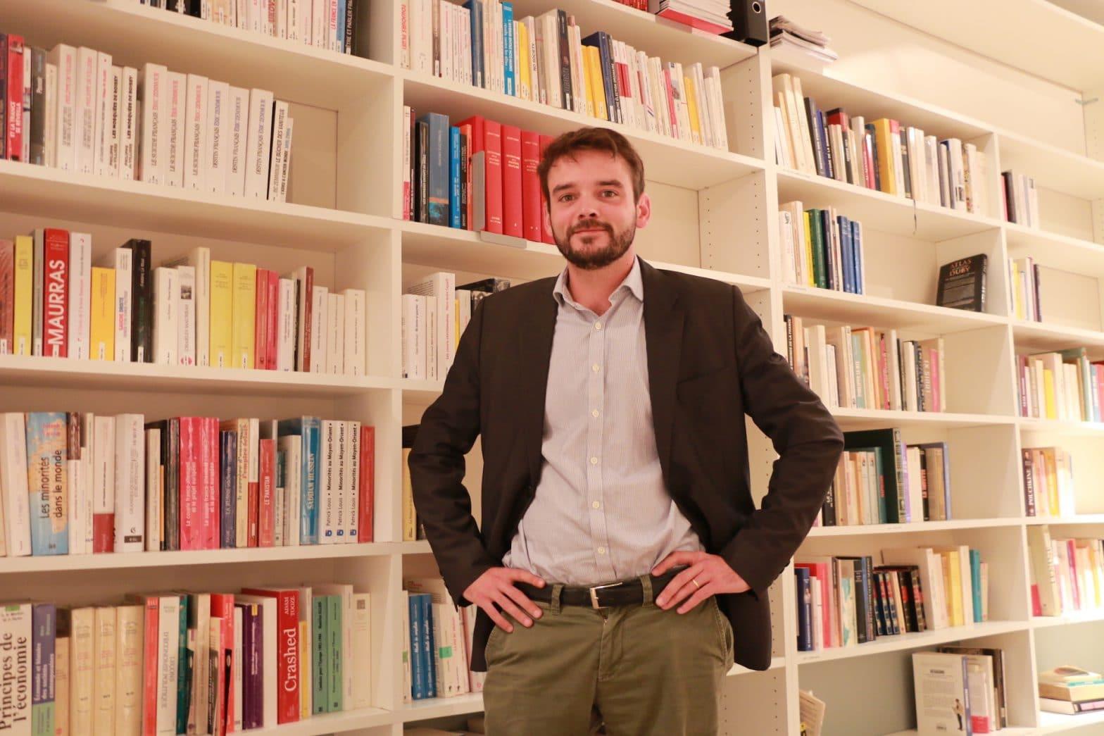 Pierre Meurin, directeur des études à l'ISSEP