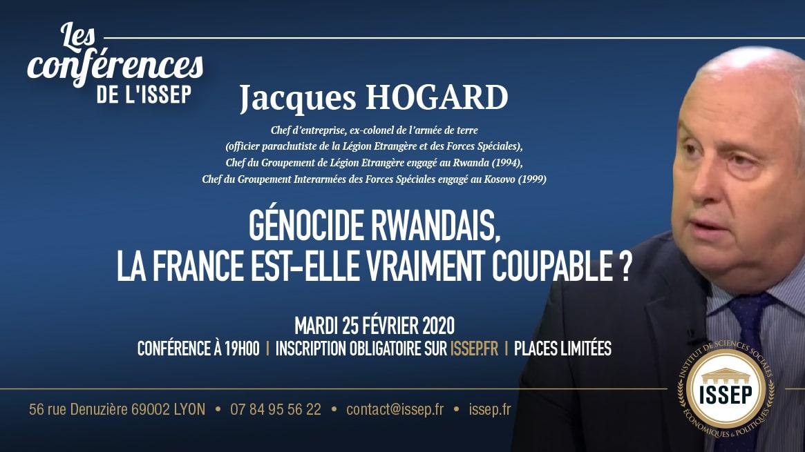 conférence Hogard ISSEP génocide rwandais