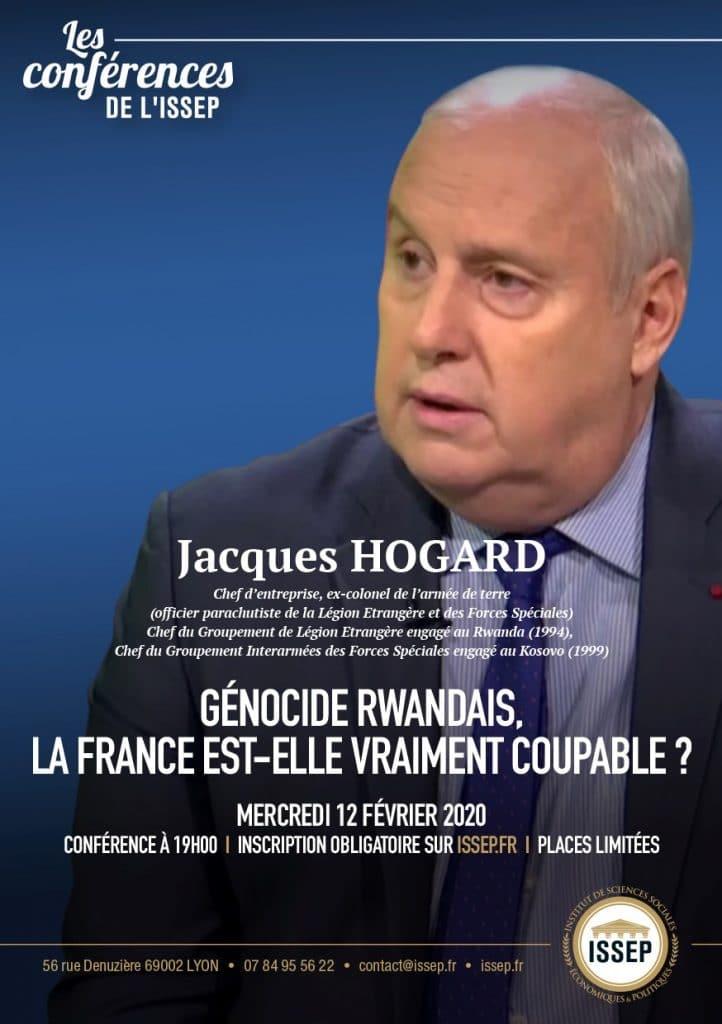 Jacques Hogard en conférence à l'ISSEP