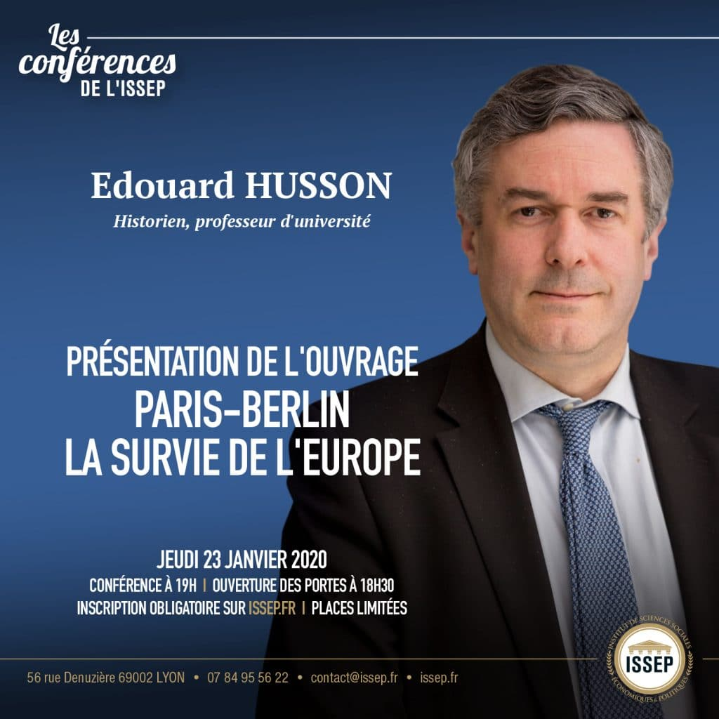 Conférence Edouard Husson ISSEP