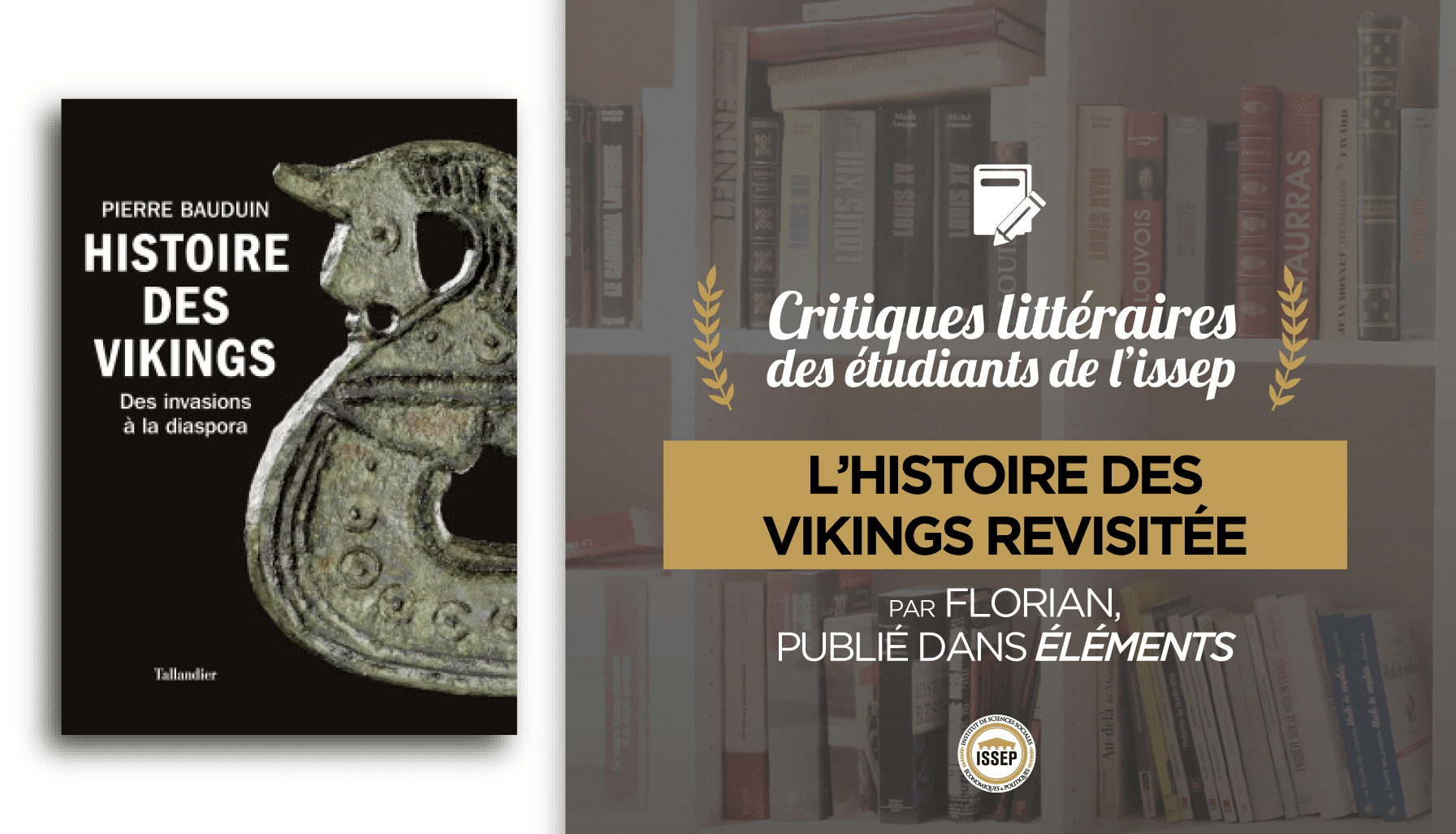 Critique littéraire histoire des vikings