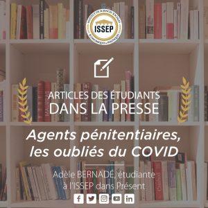 Article des étudiants | Agents pénitentiaires, les oubliés du COVID