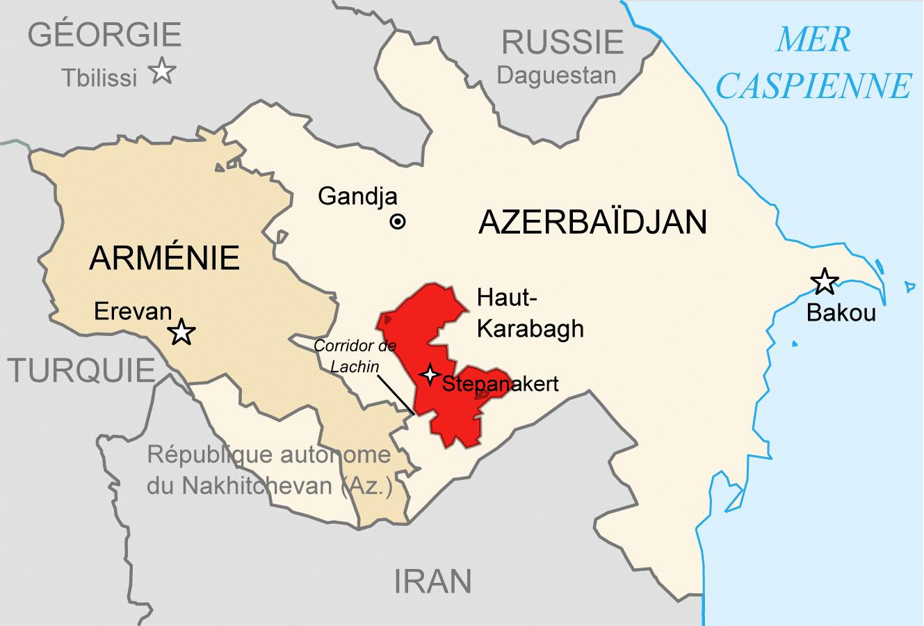 Thomann CAP - note d'actualité - haut karabakh
