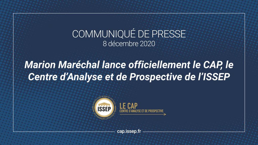 Communiqué de presse - Lancement du CAP de l'ISSEP